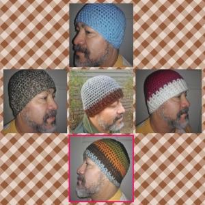 Quique Mens Crochet Hat